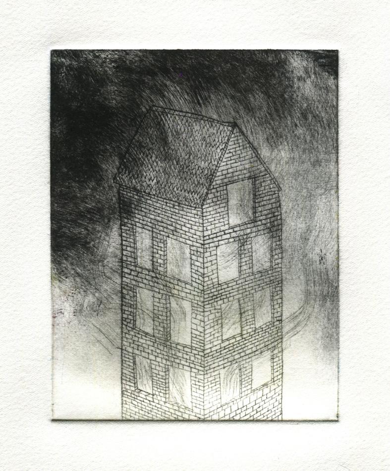 Drypoint Benjamin Phillips Artist Amp Illustrator